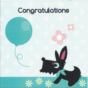 Congratulations Card - Bailey